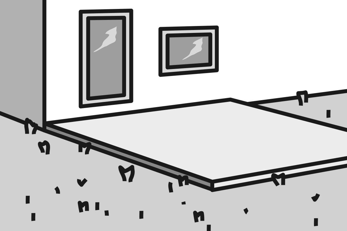 Variante 2: Terrasse auf Fundament