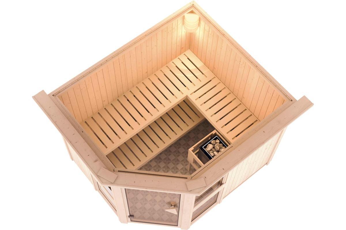 Elements de sauna