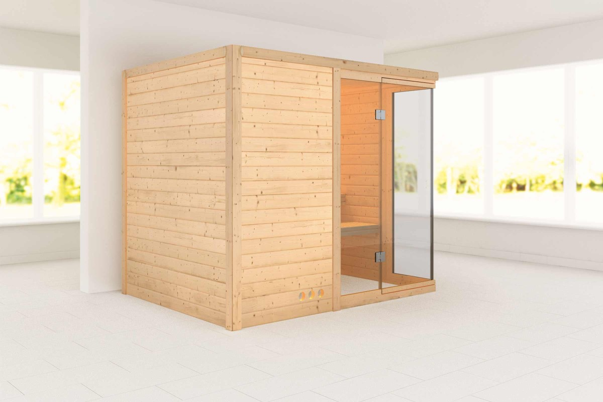 Saunas en bois massif