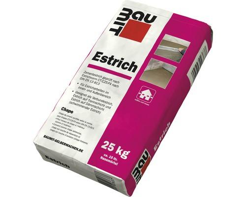 BAUMIT Estrich geeignet als Verbundestrich, Estrich auf Trennschicht oder schwimmender Estrich für innen und aussen 25 kg