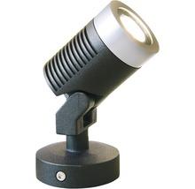 LED Aussenstrahler Season Lights Pro Olona 3 schwarz/silber mit Leuchtmittel 190 lm 3000 K warmweiss
