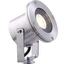 LED Aussenstrahler Season Lights Pro Orba edelstahl mit Leuchtmittel 190 lm 3000 K warmweiss