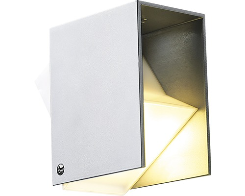 Applique murale extérieure LED Sile gris, source lumineuse 190 lm 3000 K, blanc chaud, Season LightsPro