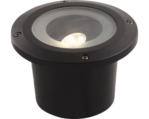 Éclairage à encastrer LED Fella, noir, 320 lm 3000 K, blanc chaud, Season LightsPro