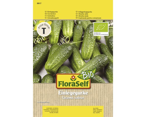 Bio Gurke Gemüsesamen FloraSelf®