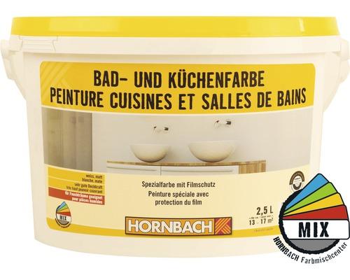 Bad- und Küchenfarbe weiss 2.5 l kaufen bei HORNBACH.ch