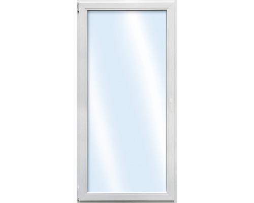Balkontür Kunststoff ARON Basic weiss 1000x2000 mm DIN links 2xESG