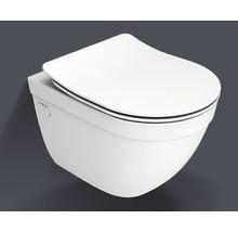 Set de WC mural Jungborn Ella cuvette sans rebord réduit blanc