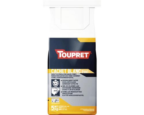 Toupret Schnell-Renovierungsspachtel Cachet weiss 5 kg