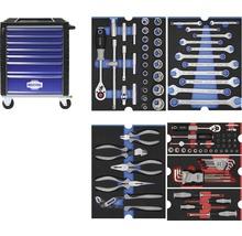Werkstattwagen Industrial mit 7 Schubladen, inkl. 6 Module