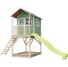 Cabane de jeux EXIT Loft 700, bois vert