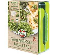 Kit de culture de pousses vertes Micro Green-Garden Sperli avec 4 patins de graines