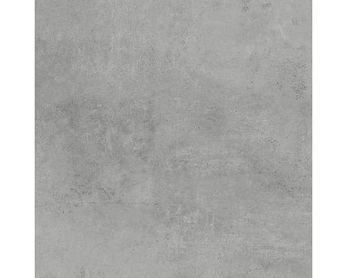 Carrelage pour sol en grès cérame fin Hometec Grey mat 60x60cm