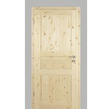 Porte intérieure Pertura Fengur style maison de campagne Pin 86.0x198.5 cm gauche 02/03