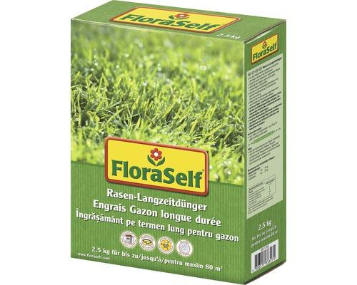 Rasen-Langzeitdünger FloraSelf 2,5 kg