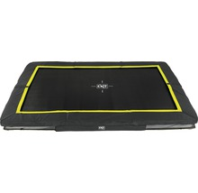 Trampoline EXIT Silhouette Ground rectangulaire 214x305 cm noir