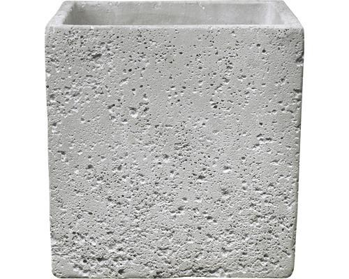 Pot de fleurs Latina Concrete 13x13cm gris clair