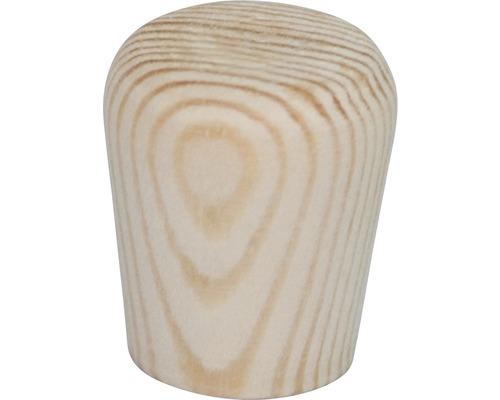 Bouton de meuble en bois pin Ø 20 mm