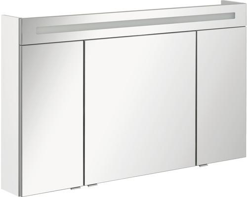 Spiegelschrank B.clever weiss 120x71x16 cm kaufen bei HORNBACH.ch