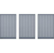 Stahlblech-Lochwand Küpper 70100 3-tlg mit 12 Haken
