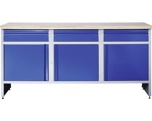 Werkbank Industrial 177 B 1.0 mit 3 Türen und 3 Schubladen