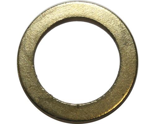 Türunterlegscheibe 10 mm vermessingt, 15 Stück