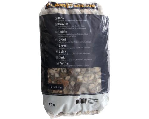 Drainagekies 16-32 mm 25 kg, grau