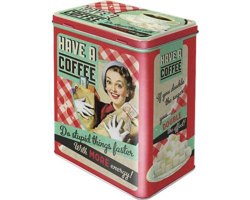 Boite De Rangement L Have A Coffee 3 L Acheter Sur Hornbach Ch