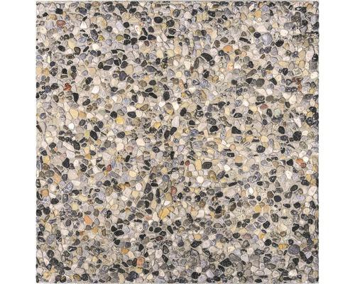 Terrassenplatte Waschbeton grau 40x40x3.9 cm