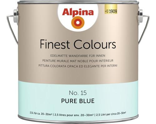 Alpina Finest Colours Pure Blue 2.5 l