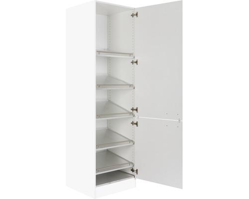 armoire haute pour le rangement des chaussures 60 cm optihwr hs606 7