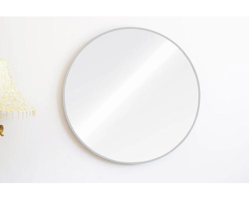 Miroir rond argent Ø 60 cm