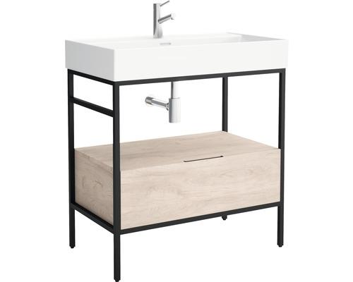 Support métallique pour vasque Brooklyn 80cm noir
