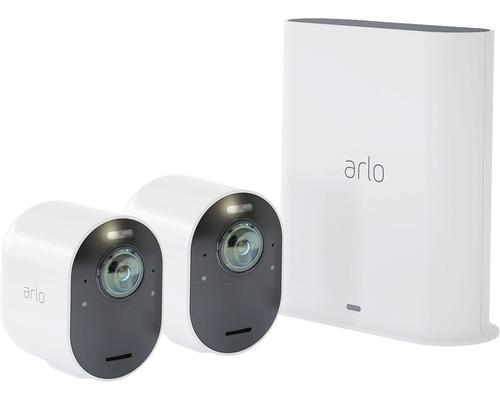 Arlo Ultra 4K-UHD-Überwachungssystem kabellos mit 2x Kamera (VMS5240)
