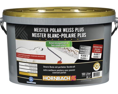 Wandfarbe Meister PolarweissPlus konservierungsmittelfrei 10 l