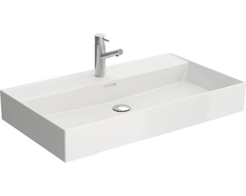 Vasque céramique 81cm blanc