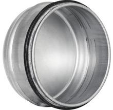 Bouchon d'embout de conduit opur les tôles d'acier agrafées en hélice d'un Ø de 100 mm