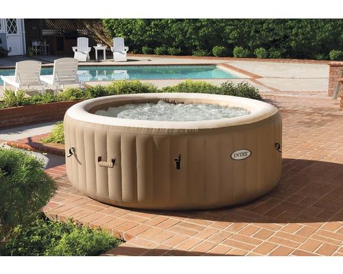 Intex Aufblasbarer Whirlpool Pure Spa Bubble für bis zu 4 Personen