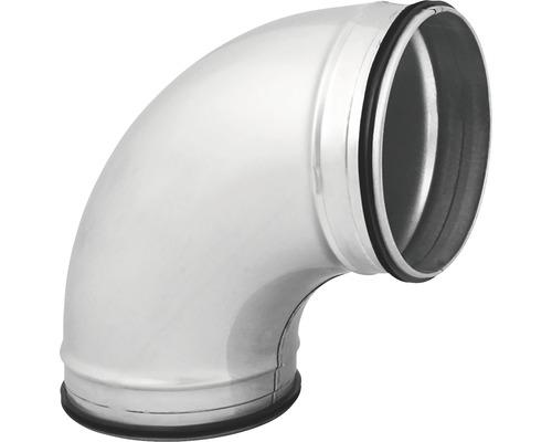 Wickelfalzrohr-Rundbogen Ø 100 mm 45 Grad