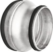 Réduction de tube agrafé de Ø 125/100 mm