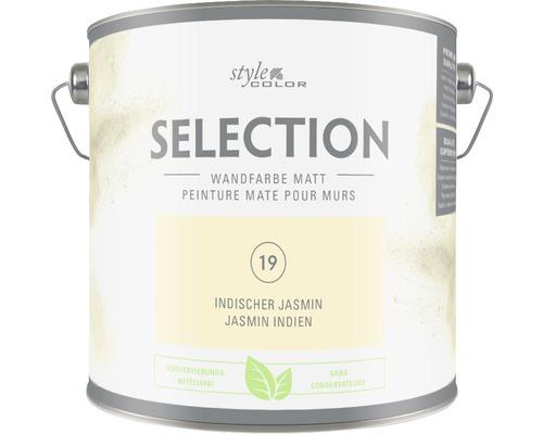 Premium Wandfarbe StyleColor SELECTION konservierungsmittelfrei Indischer Jasmin 2.5 l