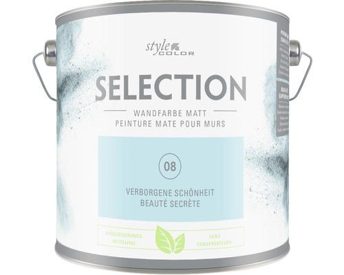 Premium Wandfarbe StyleColor SELECTION konservierungsmittelfrei Verborgene Schönheit 2.5 l