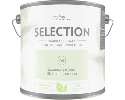 Premium Wandfarbe StyleColor SELECTION konservierungsmittelfrei Savannah's Melodie 2.5 l