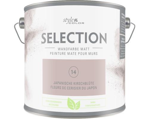 Premium Wandfarbe StyleColor SELECTION konservierungsmittelfrei Japanische Kirschblüte 2.5 l