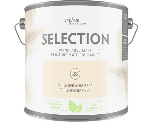 Premium Wandfarbe StyleColor SELECTION konservierungsmittelfrei Perle der Alhambra 2.5 l