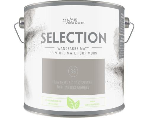 Premium Wandfarbe StyleColor SELECTION konservierungsmittelfrei Rhythmus der Gezeiten 2.5 l