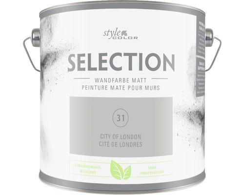 Premium Wandfarbe StyleColor SELECTION konservierungsmittelfrei City of London 2.5 l