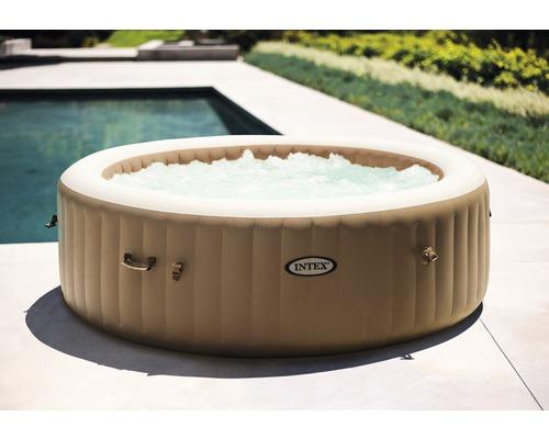 Intex Aufblasbarer Whirlpool Pure Spa Bubble Massage Set für bis zu 6 Personen