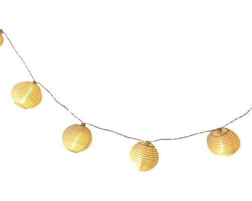 Solar LED Lichterkette Cotton Ball