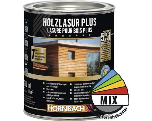 Holzlasur Plus im Wunschfarbton 750 ml